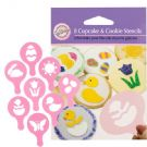 Easter Cupcake and Cookie Stencils